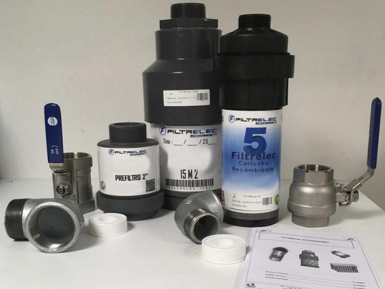 FILTRELEC F5 & 15M2 - Sistema de filtración de agua contaminada con hidrocarburos