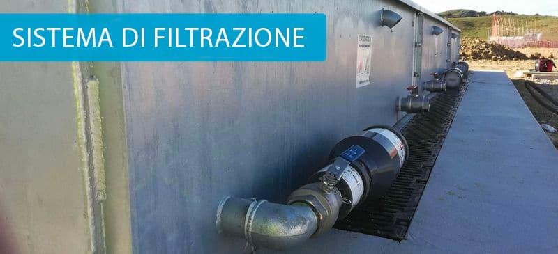 sistema di filtrazione