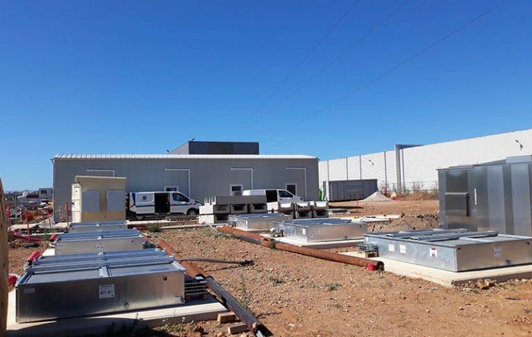 BAF: Vasche di acciaio con sistema di estinzione per trasformatori di alta tensione
